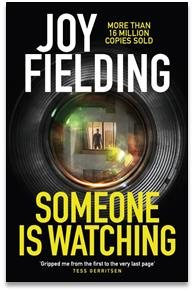Someone is Watching Book Cover